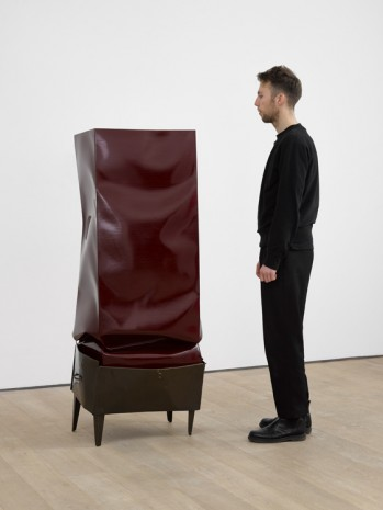 Angela de la Cruz, Crate (Burgundy), 2017 , Lisson Gallery