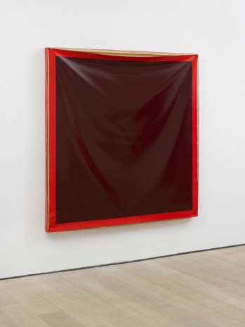 Angela de la Cruz, Bare (Red), 2017 , Lisson Gallery