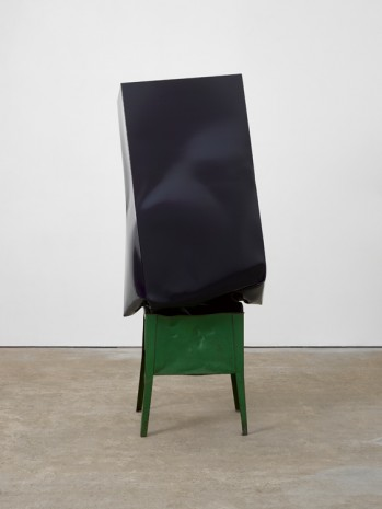Angela de la Cruz, Crate (navy with green box), 2017 , Lisson Gallery
