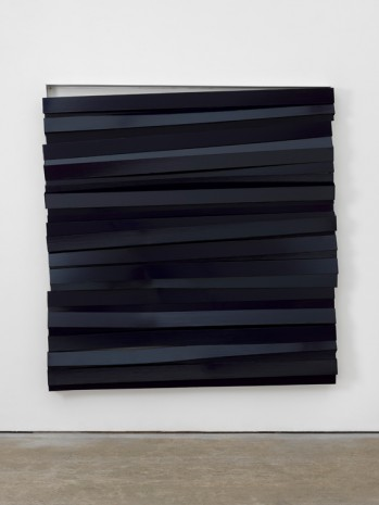 Angela de la Cruz, Shutter (Navy), 2017 , Lisson Gallery