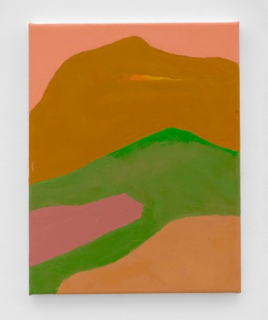 Etel Adnan, Untitled , 2018 , White Cube