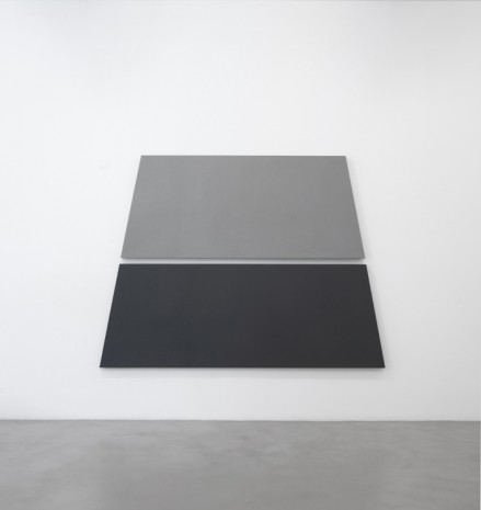 Alan Charlton, Light + Dark Grey Trapezium in 2 Parts, 2018, A arte Invernizzi
