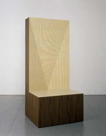 Richard Artschwager, Seat of Judgement, 2008 , Gagosian