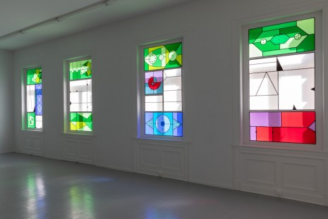 Christine Ödlund, Colored Light in Far-Red Eyes (in sixteen parts), 2015-2018, Galleri Riis