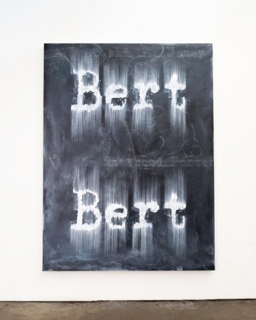Gary Simmons, Bert Bert, 2018 , Simon Lee Gallery