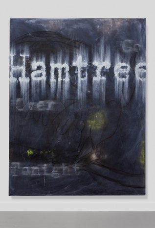 Gary Simmons, Hamtree, 2018 , Simon Lee Gallery