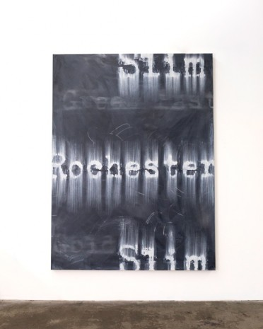 Gary Simmons, Slim Rochester Slim, 2018 , Simon Lee Gallery
