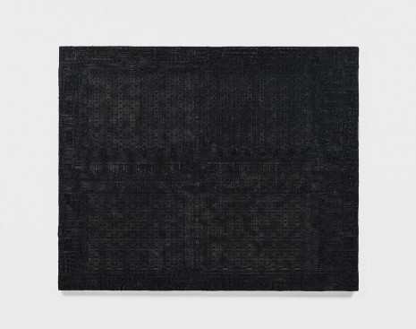 Analia Saban, Pleated Ink (1,024-Bit (1K) Dynamic RAM, 1103, Intel, 1970), 2018 , Tanya Bonakdar Gallery