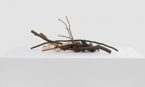 Sharon Lockhart, A Bundle and Five Variations: Bundle, Nine Bronze Sticks, 2018 , Gladstone Gallery
