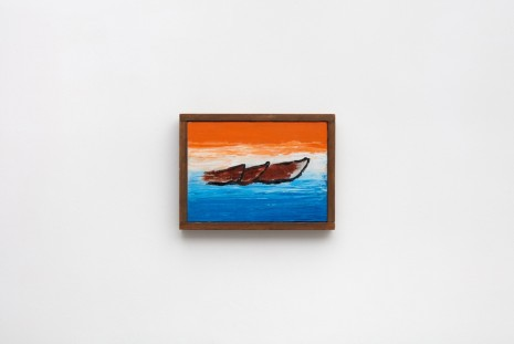 Forrest Bess, Old Boats, 1967, Modern Art