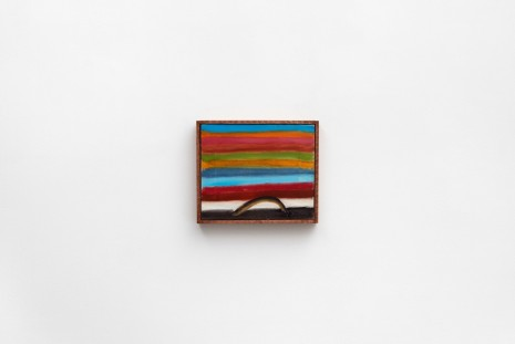Forrest Bess, Untitled (Rainbow with Arc), n.d., Modern Art