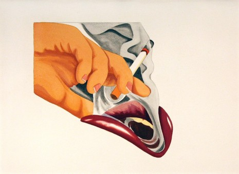 Tom Wesselmann, From Smoker #18, 1976, Hollis Taggart