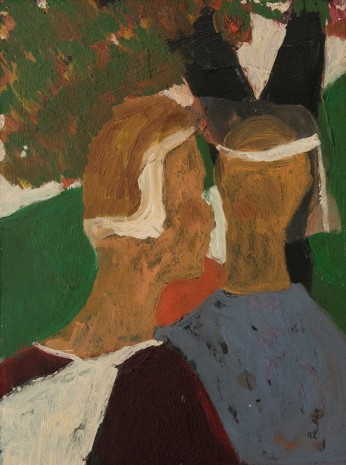Bob Thompson, Untitled (Two Brides), 1960, Hollis Taggart