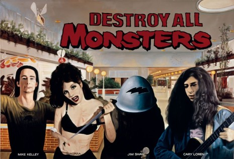 The Destroy All Monsters Collective (Mike Kelley, Cary Loren, Jim Shaw), Mall Culture, 2000 , Hauser & Wirth