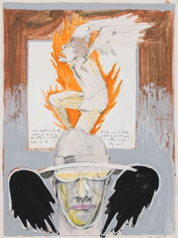 Mike Kelley, Untitled (Student Drawing), 1974 , Hauser & Wirth