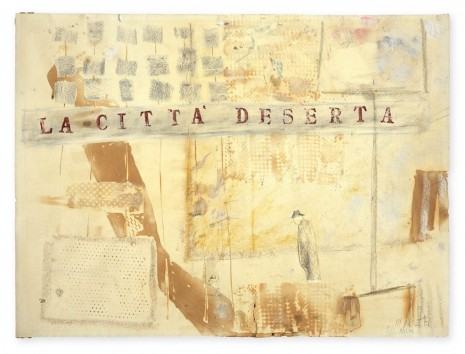 Fausto Melotti, La città deserta (The deserted City), 1955 , Hauser & Wirth