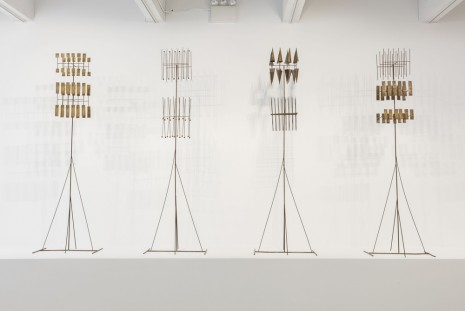 Fausto Melotti, Le torri della città invisibile (The Towers of the invisible City), 1976 (1980) , Hauser & Wirth