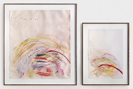 Cy Twombly, Untitled, 1981-82, Simon Lee Gallery