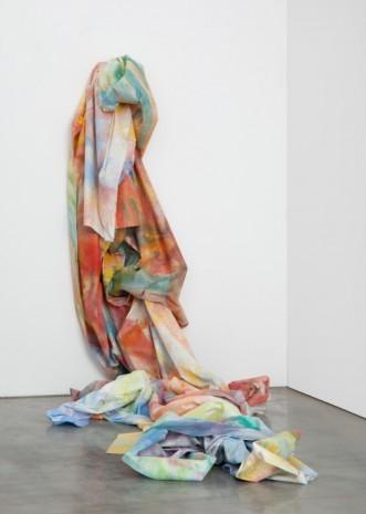 Sam Gilliam, Wall Cascade, 1990-2011, Gladstone Gallery