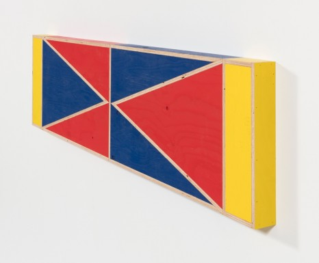 G.T. Pellizzi, Transitional Geometry in Red, Yellow and Blue (Figure 40), 2018, Steve Turner