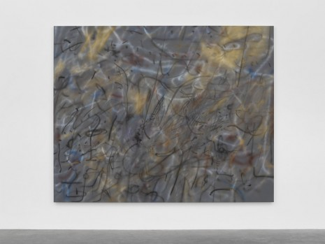 Julie Mehretu, Under the Lowest (N.S.), 2018 , White Cube