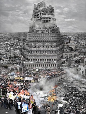 Du Zhenjun, The Tower of Babel—Old Europe, 2010 , Pearl Lam Galleries