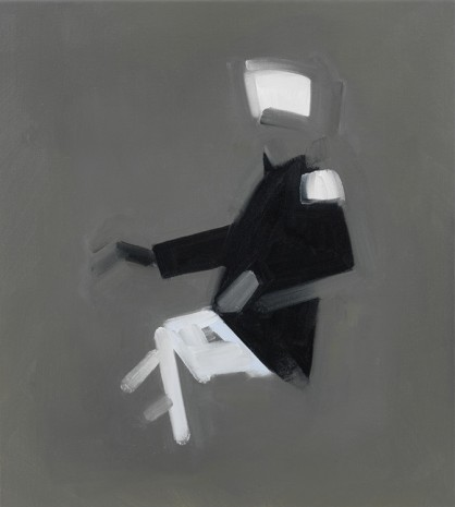 Michael van Ofen, Drawing of a Seated Colonel, 2012, Alison Jacques Gallery