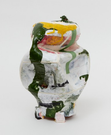 Kathy Butterly, Green Skattered, 2018, James Cohan Gallery