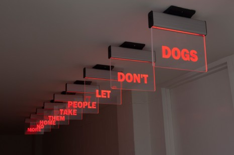 Darren Bader, dogs don't let people take them home no more, , Blum & Poe