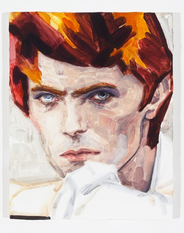 Elizabeth Peyton, David Bowie, 2012, Regen Projects