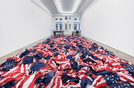Gardar Eide Einarsson, LAG WASTE (STARS AND STRIPES), 2016 , team (gallery, inc.)