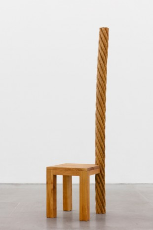 Mircea Cantor, Add verticaly to your seat (to Socrates), 2018 , VNH Gallery