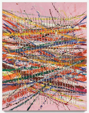 Mark Grotjahn, Untitled (Free Capri 50.59), 2018 , Gagosian