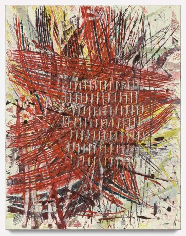 Mark Grotjahn, Untitled (Star Capri 50.19), 2017 , Gagosian