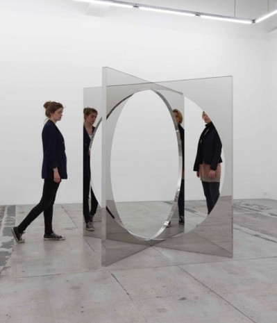 Jeppe Hein, 4-Dimensional Circle, 2011, Galleri Nicolai Wallner