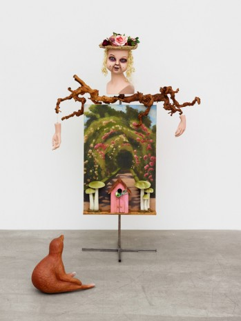 Marnie Weber, The Rose Tunnel Adventure, 2018 , Praz-Delavallade