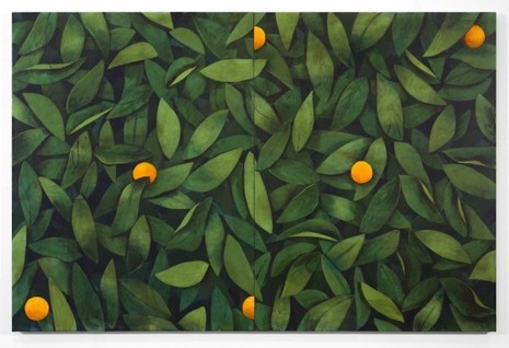 Ryan Mrozowski, Untitled (Orange), 2018, Simon Lee Gallery