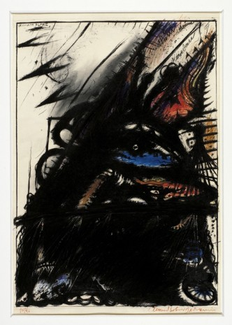 Arnulf Rainer, William Blake, 1967 , Galerie Elisabeth & Klaus Thoman