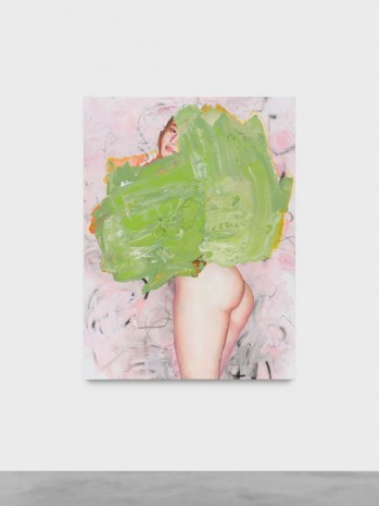 Ida Tursic & Wilfried Mille, Nude and colors, green, 2018 , Almine Rech