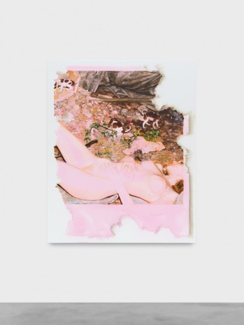 Ida Tursic & Wilfried Mille, Eaten by the mouse pink nude, 2018 , Almine Rech