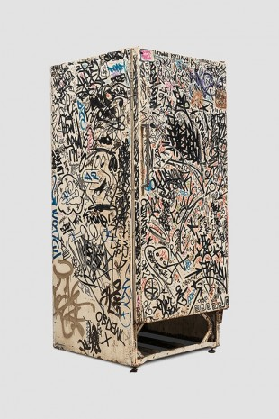 Jean-Michel Basquiat, Keith Haring + Others, Untitled (Fun Fridge), 1982, Venus Over Manhattan