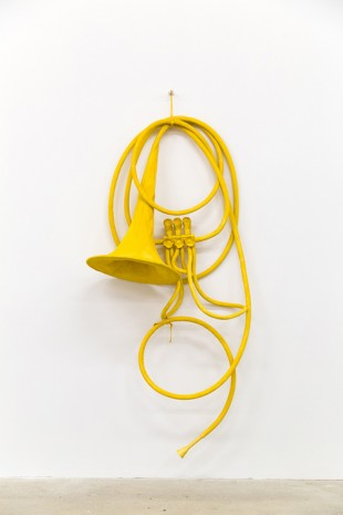 Claes Oldenburg + Coosje van Bruggen, Soft French Horn, Unwound, 2002, VENUS