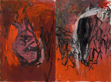 Georg Baselitz, Rote Elke - Die Flasche (11. Gruppe) [Red Elke - The Bottle (11th Group)], 1978 , Galerie Thaddaeus Ropac