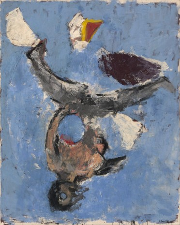 Georg Baselitz, Maria in Knogge - Strandbild 5 [Maria in Knogge - Beach Picture 5], 1980 , Galerie Thaddaeus Ropac