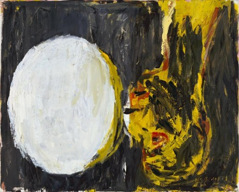 Georg Baselitz, Blick aus dem Fenster [View out of the Window], 1982 , Galerie Thaddaeus Ropac