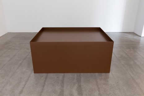 Donald Judd, Untitled (floor box), 1968 , Paula Cooper Gallery