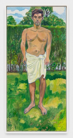 Alice Neel, Richard in Towel, 1973 , Xavier Hufkens
