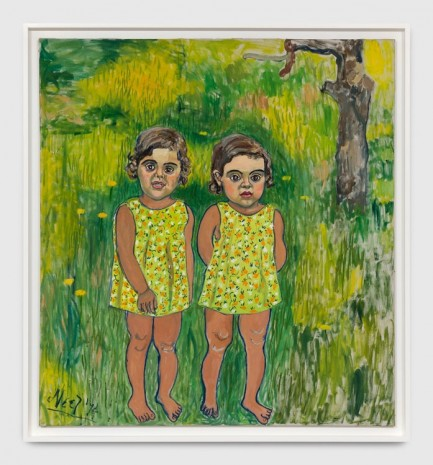 Alice Neel, Antonia and Alexandra, 1974 , Xavier Hufkens