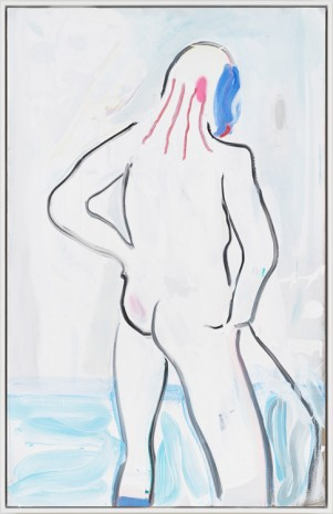Spencer Sweeney, Rouge, Bather, 2018 , Gagosian
