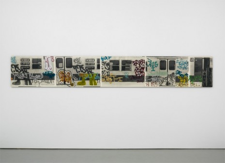 Gordon Matta-Clark, Graffiti Scroll, 1973 , David Zwirner